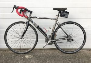 airborne titanium 58 large road bike