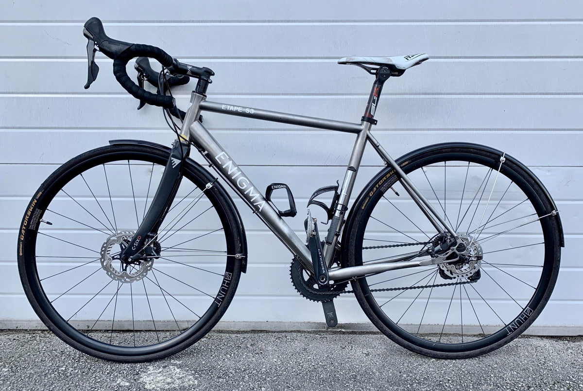 enigma etape road bike for hire