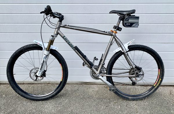 Titanium Pisgan Litespeed mountain bike