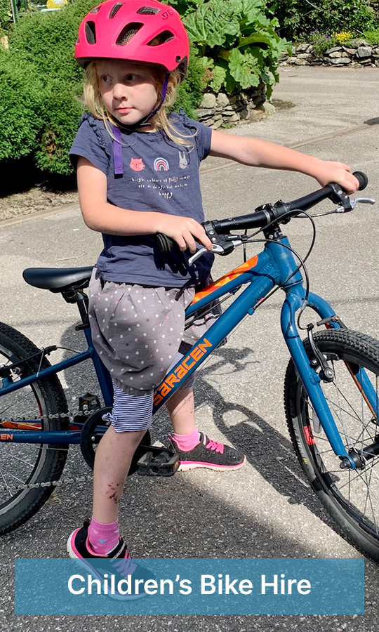 children's bike hire
