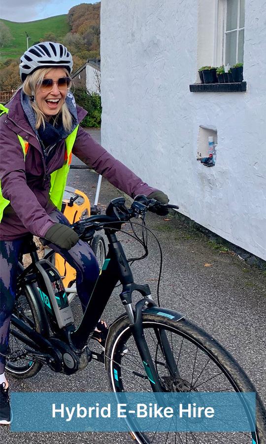 hybrid e-bike hire
